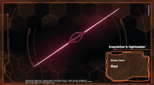 Inquisitor Lighsaber