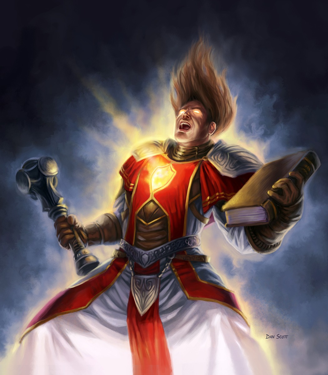 The Workshop Anthony Man Of Iron Cleric Of Light D Amp D