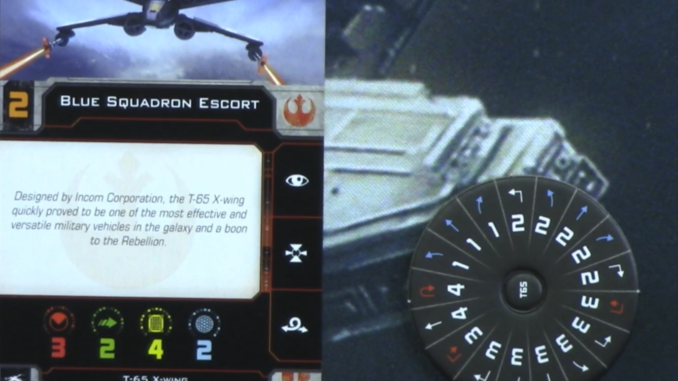 X-Wing Replacement Dial TIE Fighter 1.0