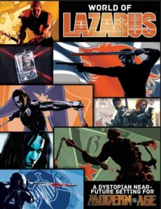 RPG ADAPTATIONS: World of Lazarus for Modern AGE – d20 Radio
